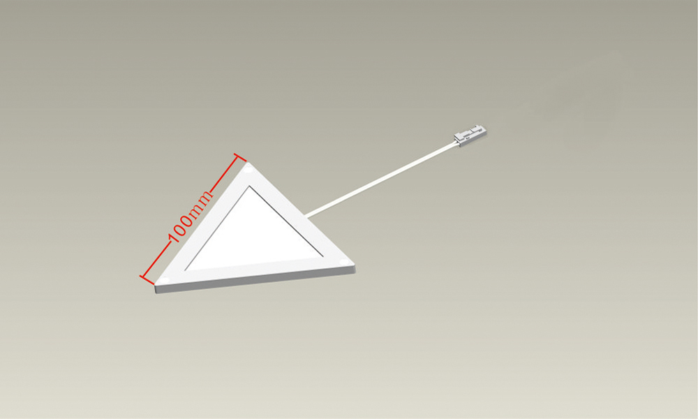 100mm side Triangle NTO LED panel
